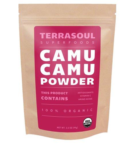Terrasoul Superfoods Camu Camu en polvo (orgánicas), 3,5 onzas