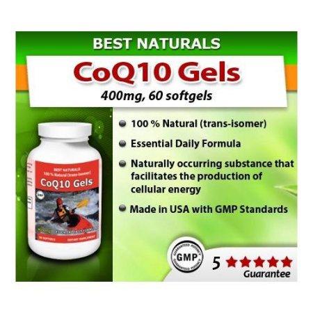 Best Naturals CoQ10 400 mg 60 Cápsulas