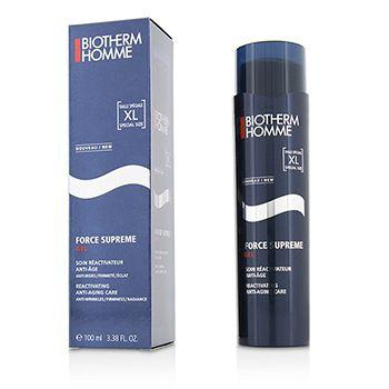 Homme Force Supreme total Reactivador Anti Aging 3,38 oz Gel Hidratante