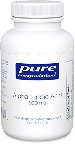 Puro encapsulados alfa Lipoic ácido 600 mg - 120 cápsulas