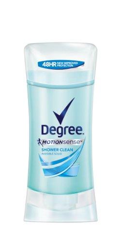Grado MotionSense antitranspirante y desodorante, limpia, ducha 2,6 onzas (paquete de 2)