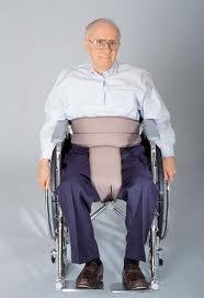 Silla de ruedas de Skilcare pélvico Slider o cinturón de seguridad reclinable