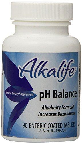 Bicarb-Balance de alkalife PH Booster tabletas, cuenta 90