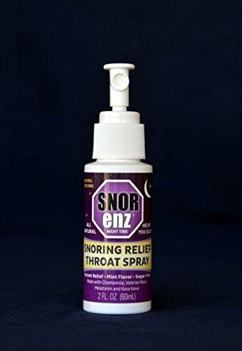 Snorenz nocturno © | Spray anti ronquidos | Todo nuevo 4 x más eficaz versión de Snorenz, más 5 millones vendidos desde 1996! | Mejora el sueño, disminución de ronquidos | Melatonina en cada Spray! | Con la melatonina, valeriana, Kava Kava y manzanilla |