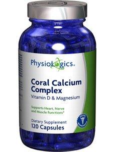 PhysioLogics - Coral calcio complejo 120 cap