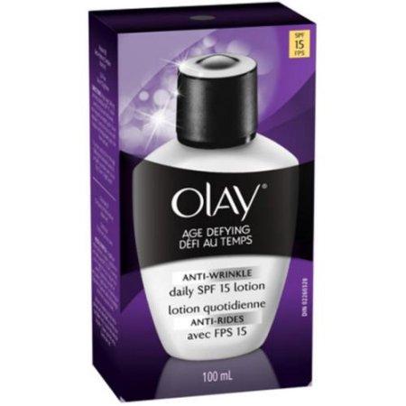 Olay Age Defying Antiarrugas Diaria SPF 15 Loción 3,40 oz (paquete de 2)