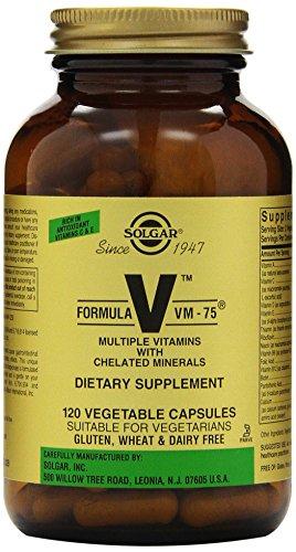 Solgar Formula VM-75 cápsulas vegetales, cuenta 120