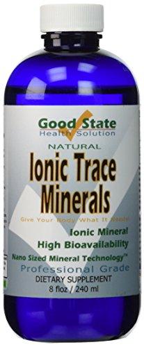 Buen estado-líquido iónico Trace minerales 8 fl. oz.