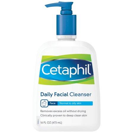 Cetaphil Piel Normal a Grasa Daily Facial Cleanser 160 onzas líquidas