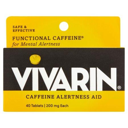 Vivarin La cafeína Alerta Aid, 200 mg 40 Tabletas