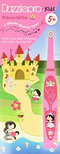 Cepillo de dientes rotatorio Dazzlepro DAZ-7047 princesa edición niños