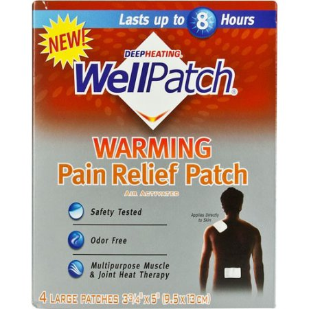 WellPatch Calentamiento Pain Relief Patch 4 Cada