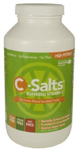C-sales ® GMO libre amortiguada polvo de vitamina C (1000mg - 4000mg) | 140 + porciones, 1,6 libras (26oz) | La forma más alta de calidad, el mejor valor Mega dosis alta dosis de suplemento de vitamina C en el mercado hoy en día