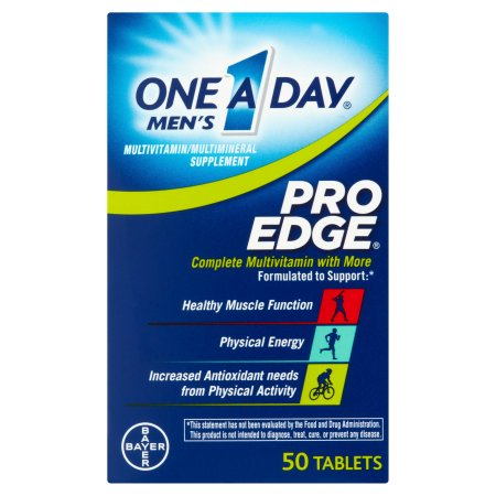 One A Day Hombres Pro Edge multivitaminas 50 ct