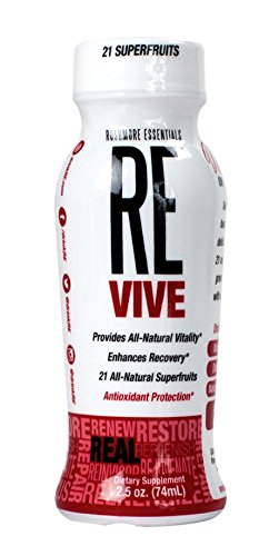 Revive la energía natural de tiro, por un impulso de energía natural, 12 pack, 2,5 onzas