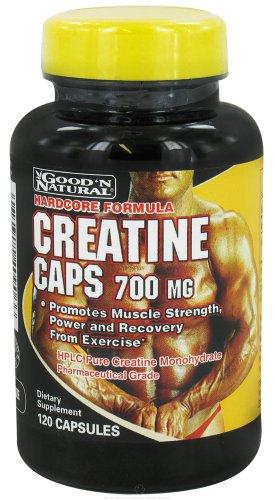 Buena y Natural - tapas de creatina 700 mg. - 120 cápsulas