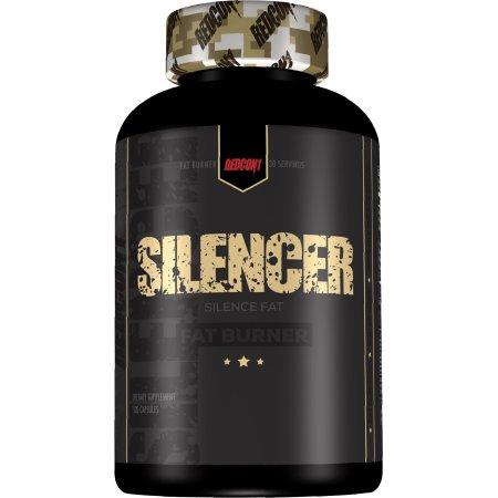 Redcon1 Silenciador - Stim gratuito quemador de grasa (120 cápsulas)