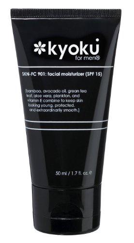 Kyoku para hombres Crema Facial hidratante SPF 15, 1.7 onzas líquidas
