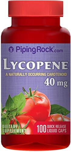 Líquido de licopeno 40 mg 100 cápsulas