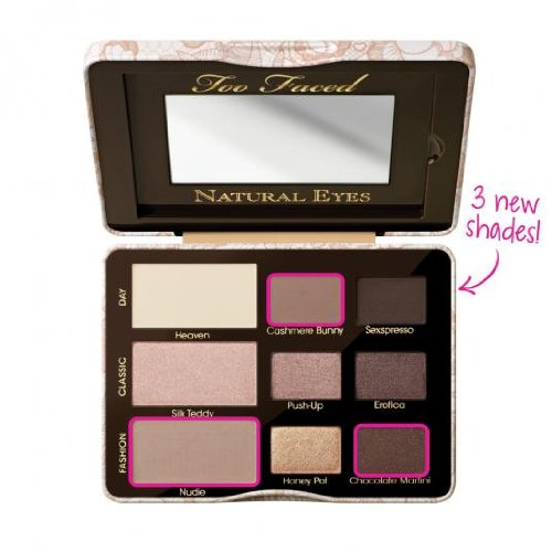 También se enfrentaron a cosméticos, ojo Natural, sombra de ojos Neutral colección, Onza 0,39 peso neto.