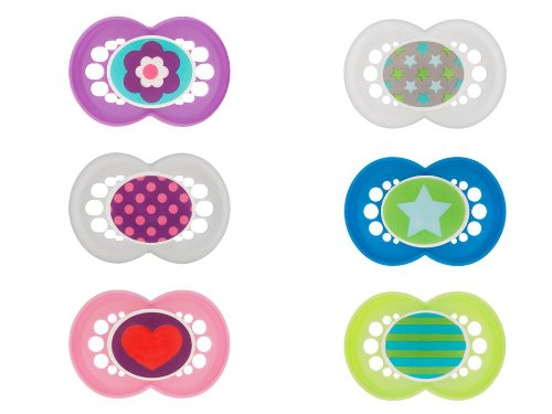 Chupete de silicona de las tendencias, Triple pack (descontinuado por el fabricante)