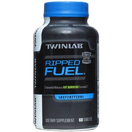 Twinlab Ripped Fuel quemador de grasa Detox 60 Cápsulas