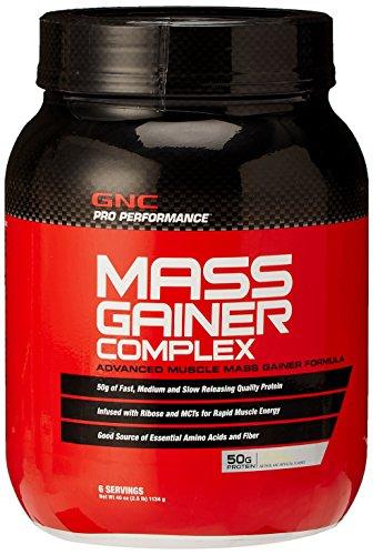 GNC Pro Performance masa Gainer Complex - 1134 gramos de vainilla