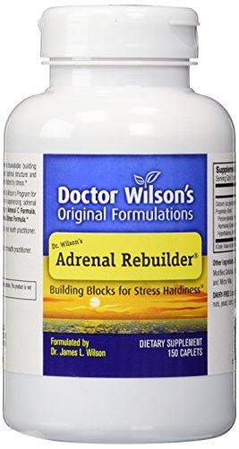 Extractos originales formulaciones Reconstructor suprarrenal del Dr. Wilson, cuenta 150
