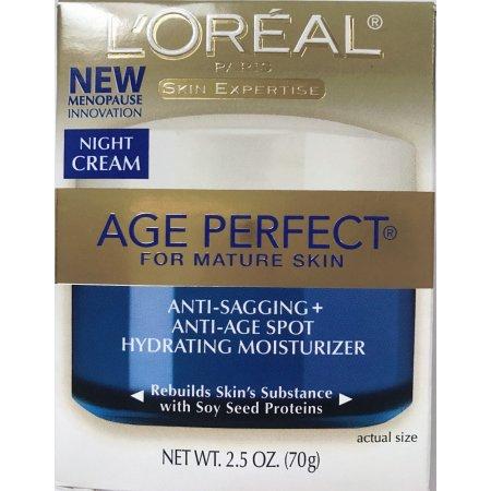 L'Oreal Crema Edad perfecta noche para pieles maduras Anti-caída y Anti-Spot edad
