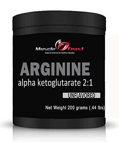 Músculo fiesta Arginina AKG 200 gramos (7 onzas)