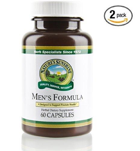 Fórmula w/licopeno naturessunshine hombres sistema Glandular hombres apoyo 60 capsulas (Pack de 2)