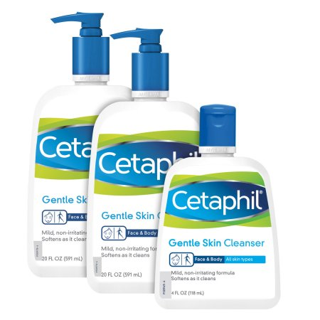Skin Cleanser Gentle 20 oz 2-pack - 4 oz Prima