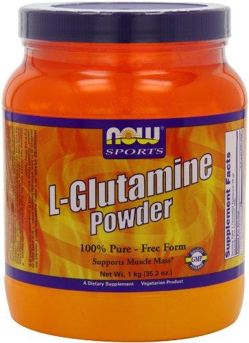 Ahora alimentos L - glutamina en polvo, 1 kg (2.2 lbs)