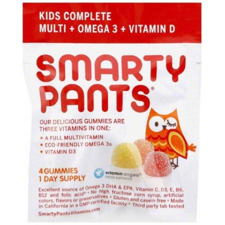 Smarty Pants de multivitaminas - completos - Gummy - Niños 0.46 OZ (paquete de 15)