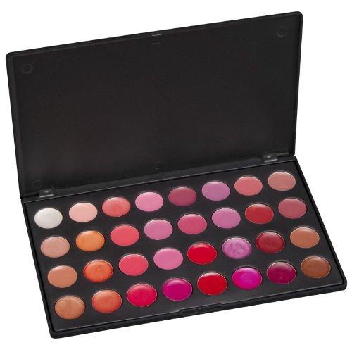 Paleta de colores de labio aromas costera 32
