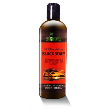 Orgánica de África Jabón Negro - Raw Jabón orgánico para el acné eczema piel seca psoriasis retiro de la cicatriz Cara y C