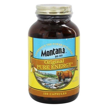 Montana Naturals Pure Energy 150 Cápsulas