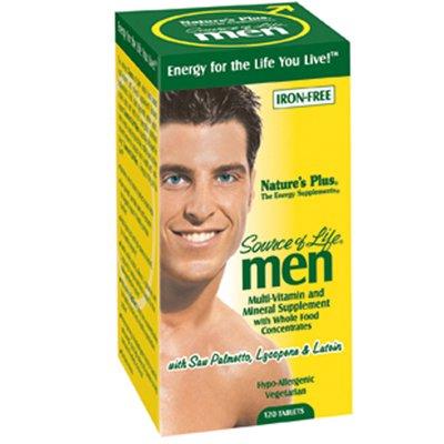 De la naturaleza y fuente de vitaminas de los hombres de la vida-120 tabletas