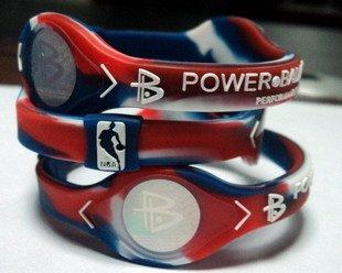 Power Balance pulsera pulsera NBA toda la estrella mediano, 7 (1 banda solamente)