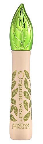 Médicos fórmula orgánica use Mascara 100% de origen Natural, Ultra orgánicos negro, Onza 0,26