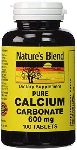 Puro carbonato de calcio 600 mg 100 Tabs
