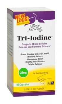EuroPharma, Terry naturalmente, Tri-yodo, 25 mg