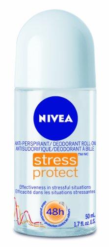 Nivea, antitranspirantes Stick estrés proteger el complejo de Zinc - 1,69 onzas