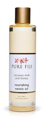 Aceite de masaje Pure Fiji - leche de coco y miel