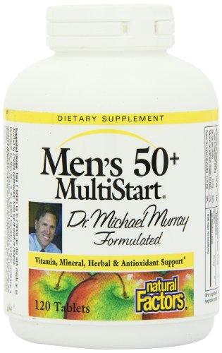 Factores naturales el Dr. Murray Inicio hombres 50 + Tablets, 120-Conde