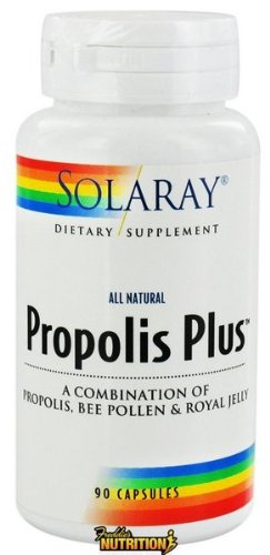 Solaray - propóleo Plus (todo Natural) 90 cápsulas