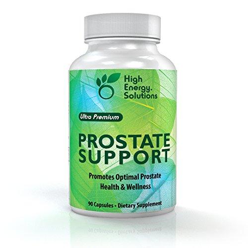 Alta energía soluciones soporte próstata suplemento optimizado para el cuidado, bienestar y salud de su próstata