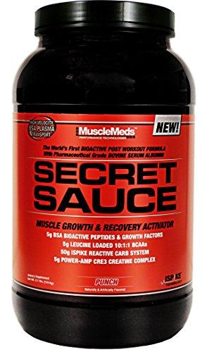 Golpe de salsa secreto de MuscleMeds, 3,1 libras