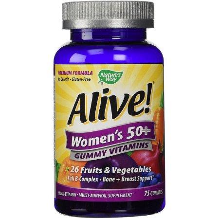 Nature's Way ¡Viva- de las mujeres mayores de 50 años gomoso de multivitaminas 75 ea (Pack de 2)