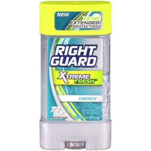 Derecho protector Xtreme fresco energía Gel antitranspirante y desodorante 4 onzas (paquete de 4)